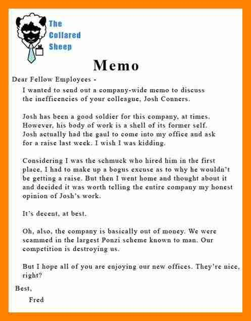 10+ memo examples to boss | resume sections