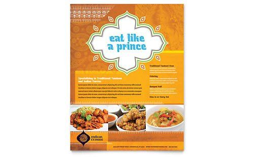 Food & Beverage Flyers | Templates & Designs