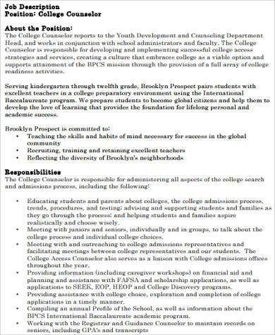 College Resume Sample - 8+ Examples in Word, PDF
