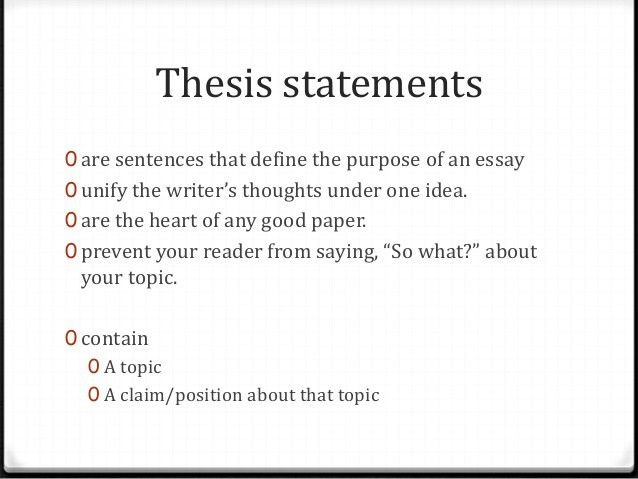 Night thesis statementsrev