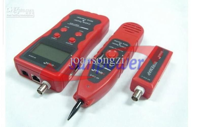Network Cable Tester Tracker Phone Line Tester BNC Network Finder ...
