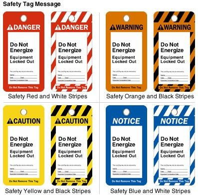 Create your own lockout tag system - MySafetySign Blog