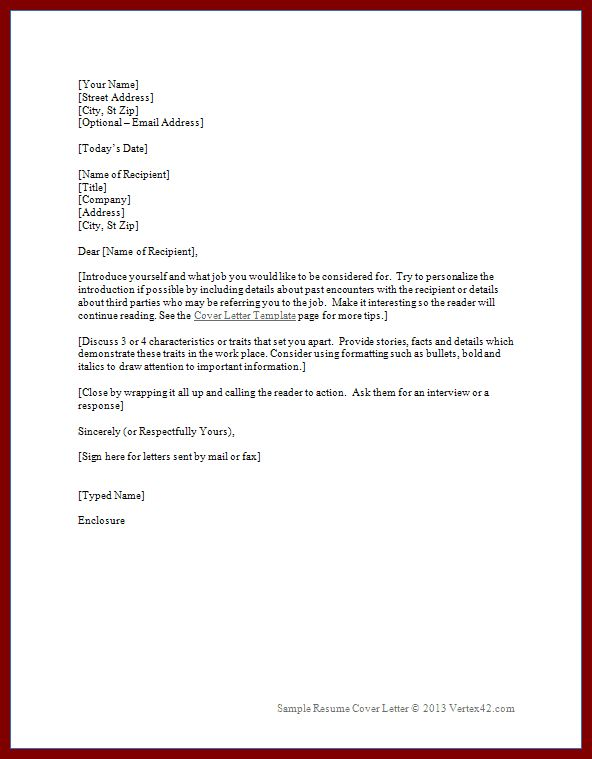 11 Cover Letter With References Example | sendletters.info
