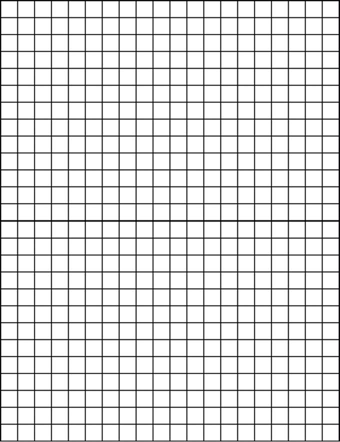 Geometry Tools: Elementary blank grid