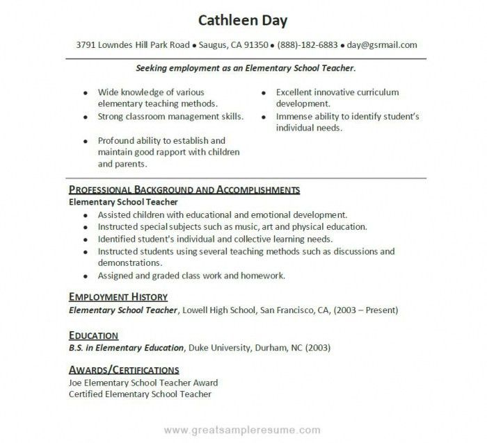 High School Resume With No Experience | Samples Of Resumes