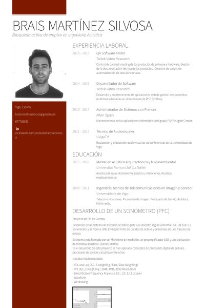 Software Tester Resume samples - VisualCV resume samples database