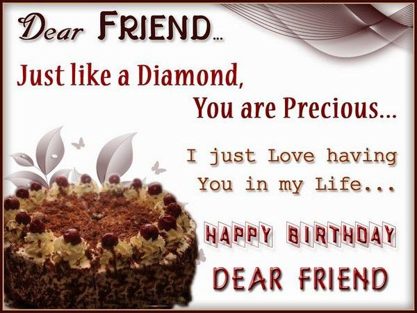 72 Happy Birthday Wishes for Friend with Images - Good Morning Quote