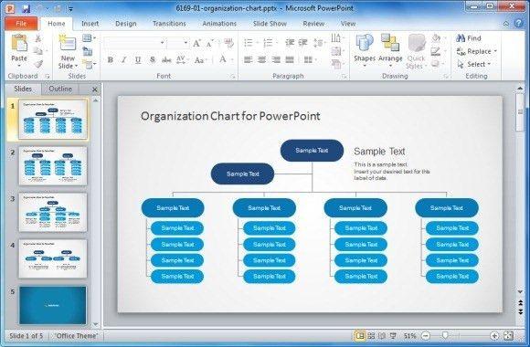 Org Chart Template Powerpoint - Bolduc.info