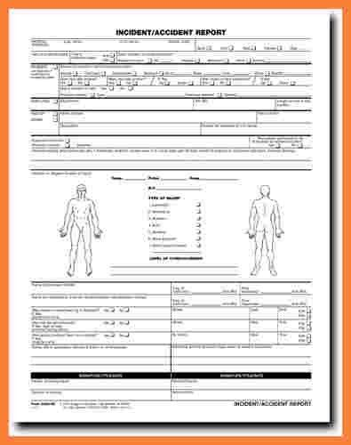 5+ workplace accident report form template | Progress Report