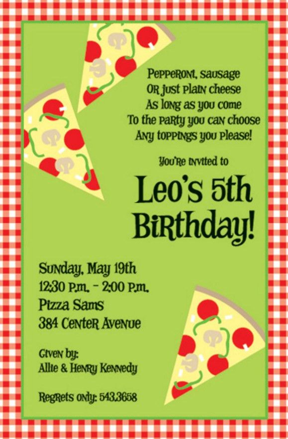 7 Beautiful Kids Birthday Party Invitation Wording Ideas | neabux.com