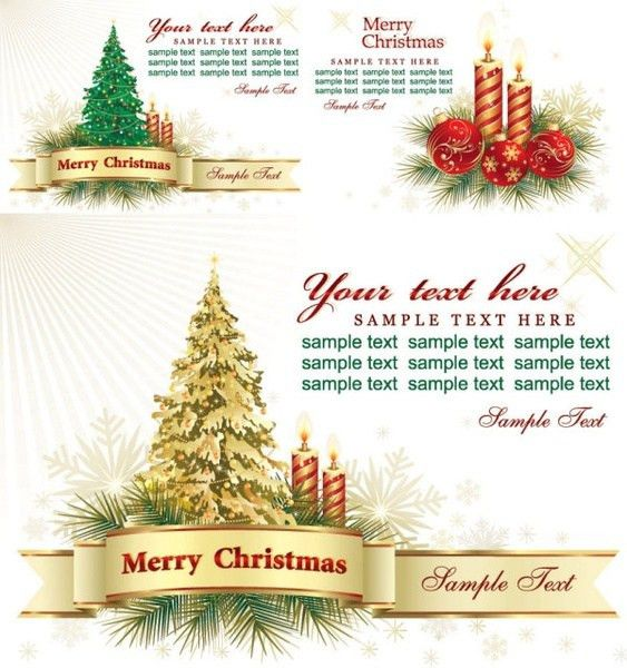 Free christmas greeting card template free vector download (26,977 ...