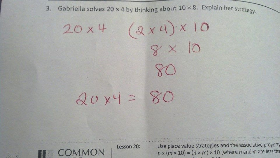 examples of common core math | COMMON CORE