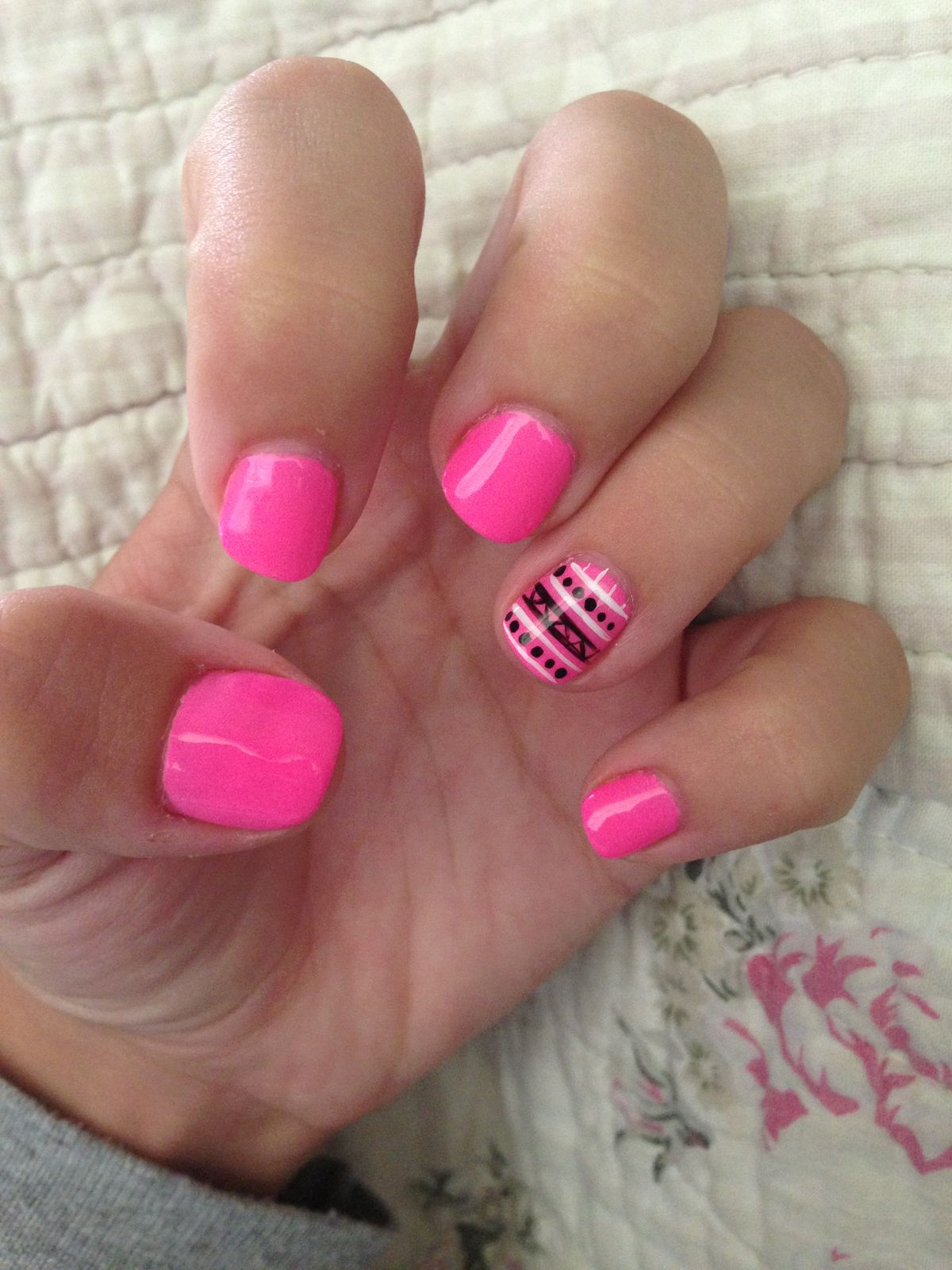 Fox Racing Acrylic Nails - More information
