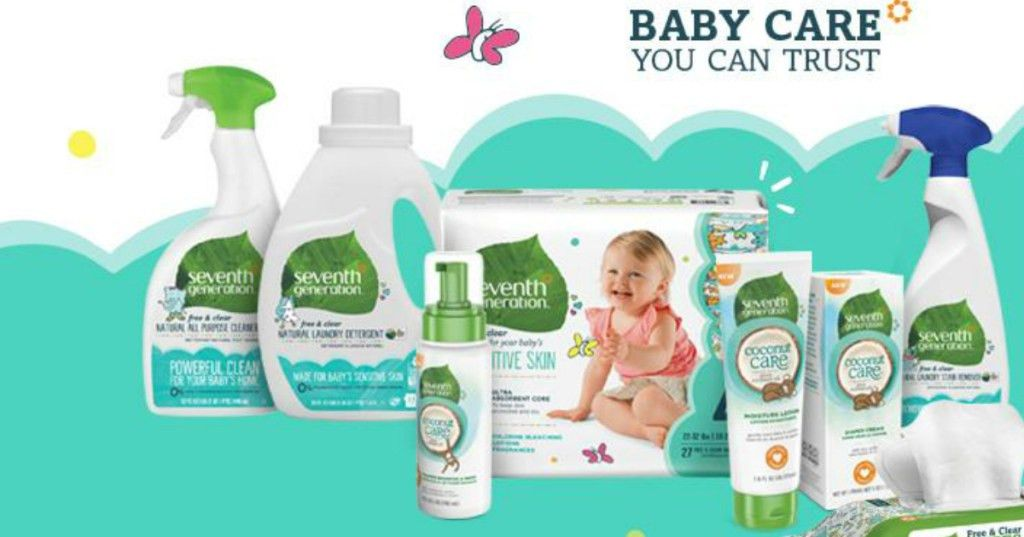 Possible FREE Seventh Generation Baby Sample Kit w/ Diapers, Wipes ...