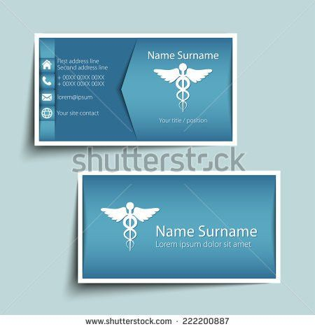 Modern Simple Business Card Template Vector Stock Vector 231812368 ...