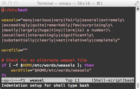 Shell programming with bash: by example, by counter-example