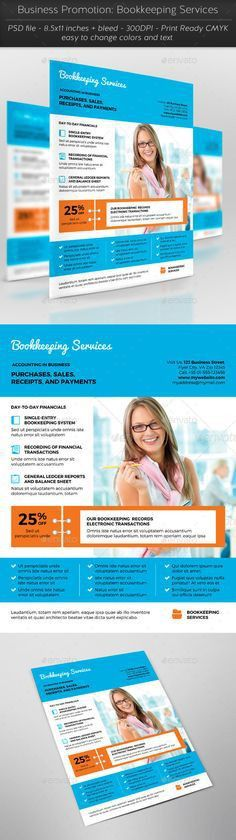 Bookkeeping & Accounting Flyer by Business Flyers on ...