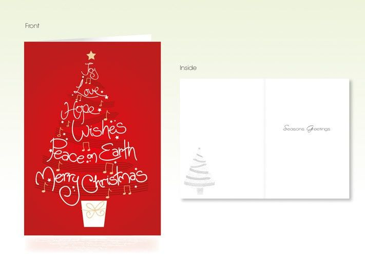 Order Christmas Cards, Design, Print - Graphitype Printing Services