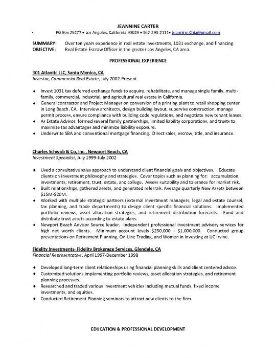 how to write a sales resume careerperfect sales management sample