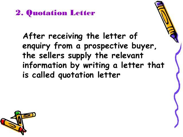 Cover letter to prospective purchaser