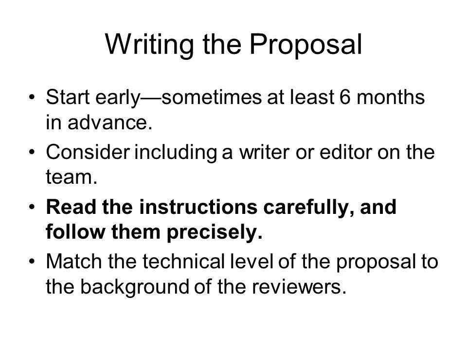 Preparing a Grant Proposal: Some Basics - ppt video online download