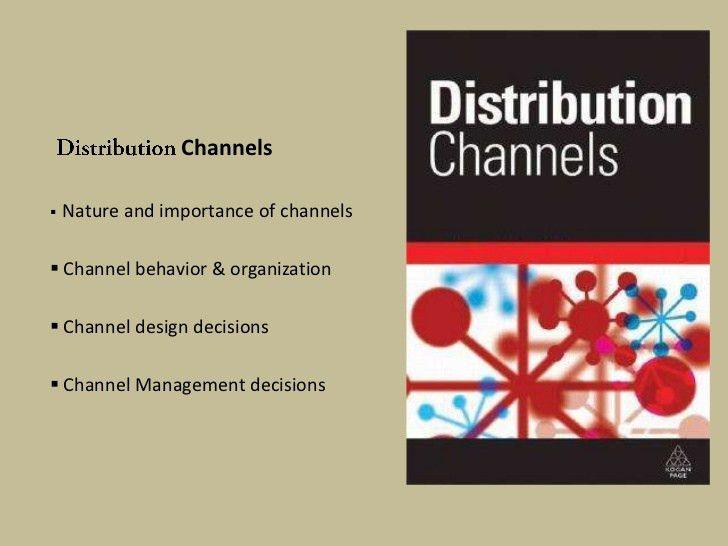 Distribution channels marketing management ppt