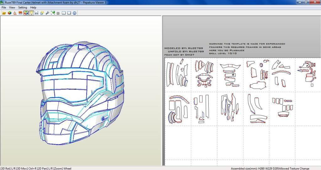Halo foam templates | Props and Costumes | Pinterest | Foam armor ...