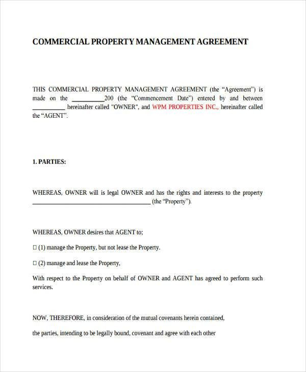 lease agreements by type alphabetical. landlords property ...