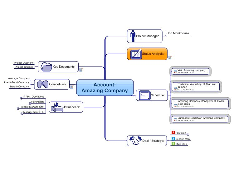 Account Plan Mind Map