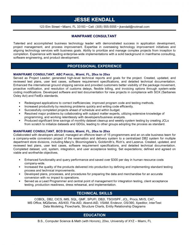 business continuity consultant resume. 15 useful materials for ...
