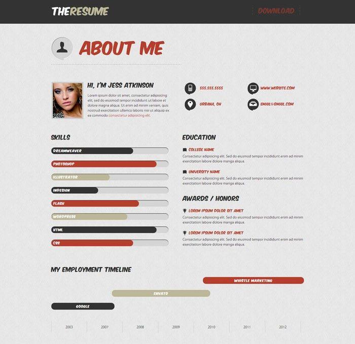 Resume Examples. Cool 10 best ever pictures and images detailed cv ...