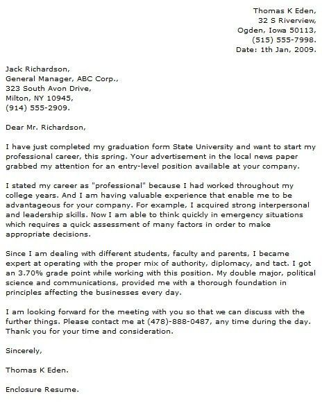 Computer Science Cover Letter | | jvwithmenow.com