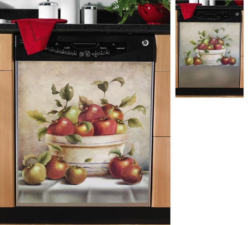 Apple Decor Magnetic Dishwasher Cover Small - Ad#: 2682390 - Addoway