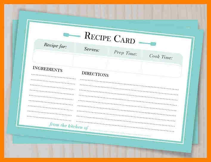 free recipe templates for word - Template
