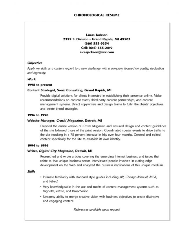 Cover Letter resume sample skills