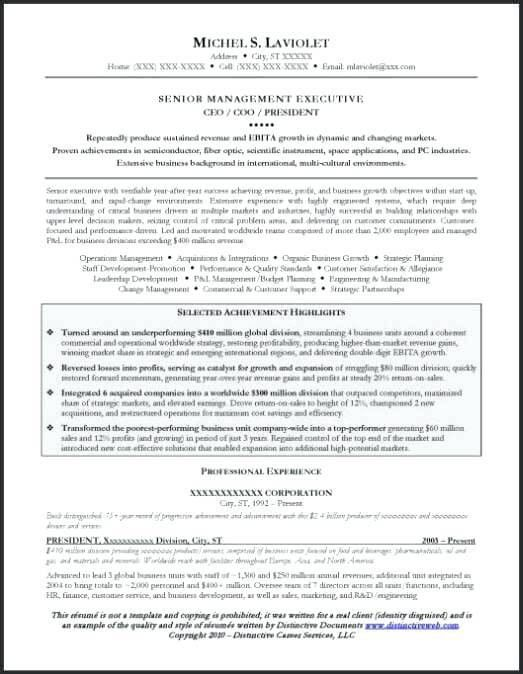Sample Of Resume Objective – Okurgezer.co
