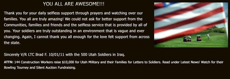 Letters To Soldiers   Home