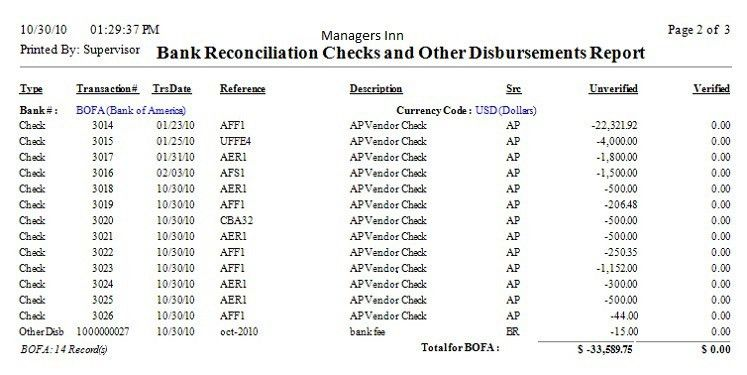 Bank Reconciliation Statement Templates Benefits And Some Common ...