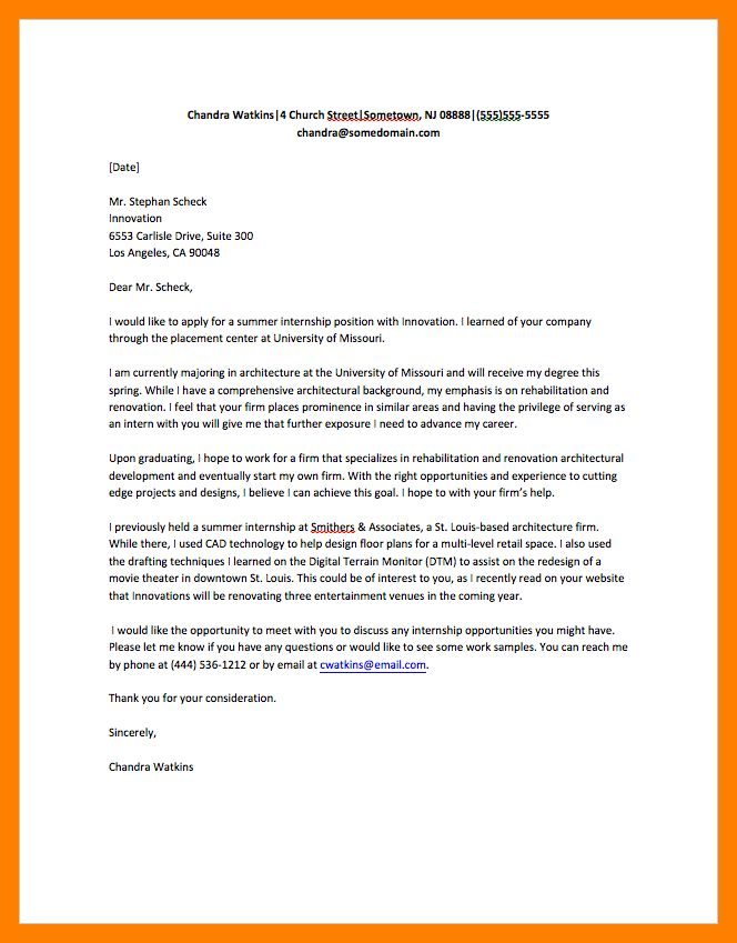 8+ sample of cover letter | resume sections