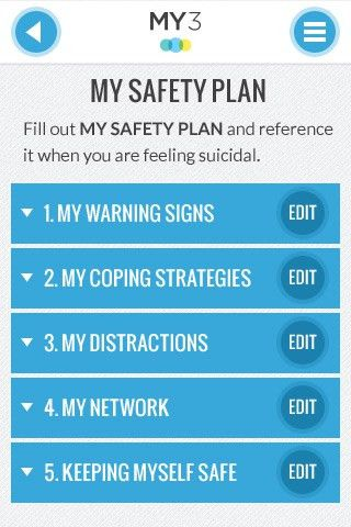 Learn more about safety planning - Suicide Prevention App for ...