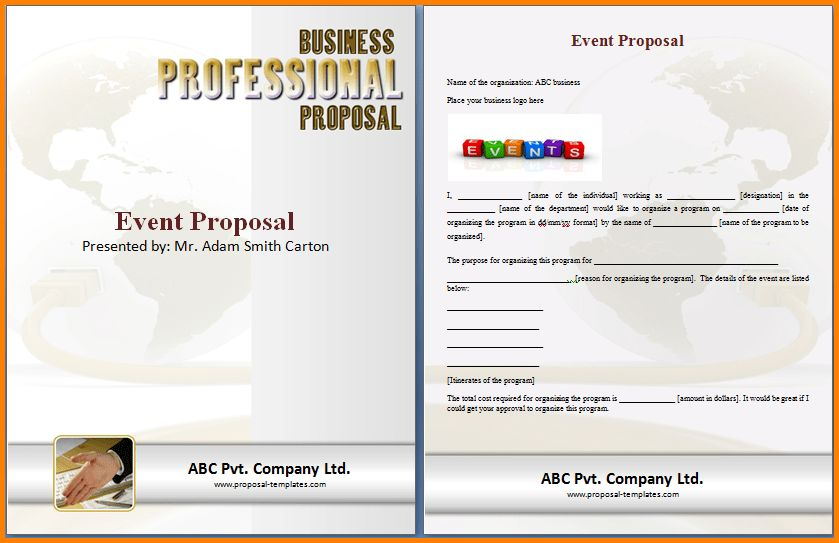 10+ event proposal template doc | quote templates