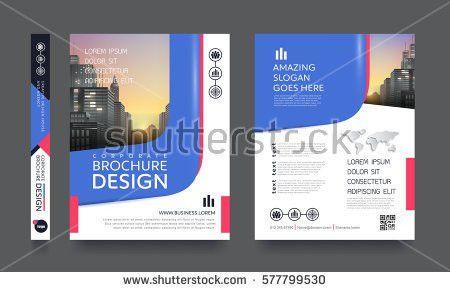 Poster Flyer Pamphlet Brochure Cover Design Stock Vector 577799530 ...