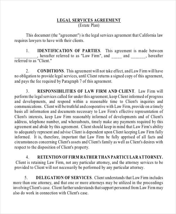 Master Service Agreement Template. Sample Contracts For Services ...