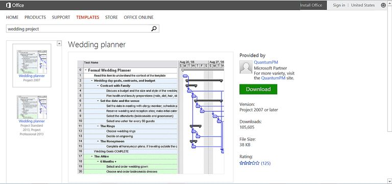 Make Wedding Planning Easier Using Microsoft Office