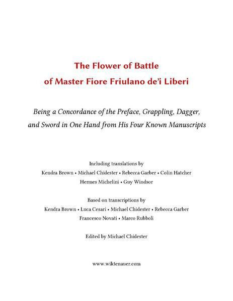 File:Fiore de'i Liberi Compilation 2015 (Vol. I) - Sample.pdf ...