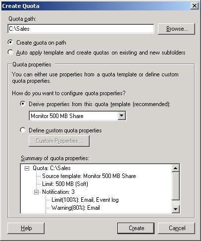 Configuring Volume and Folder Quotas - TechGenix