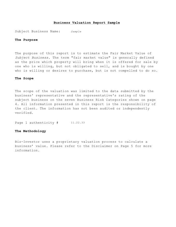 Business Report Template. Sample Financial Reporting Framework For ...