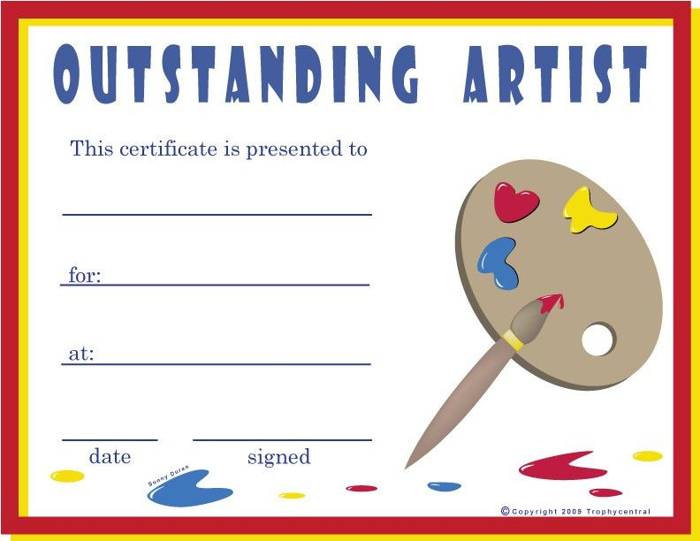 Free Award Certificates. Free Printable Baseball Certificates ...