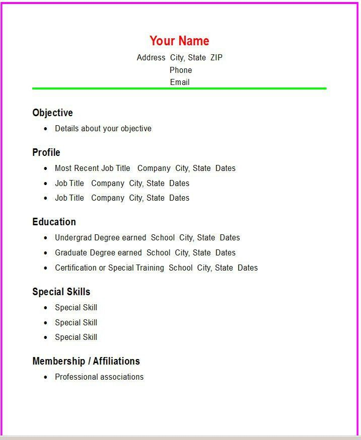 81 breathtaking resume format examples of resumes resume examples ...