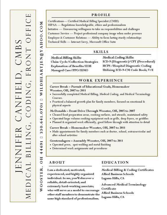Download Medical Billing And Coding Resume | haadyaooverbayresort.com